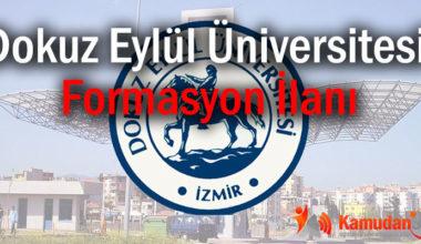 Dokuz Eylül Üniversitesi Formasyon İlanı
