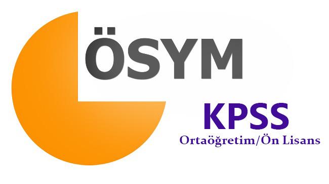 Önlisans KPSS Soru ve Cevapları Açıklandı