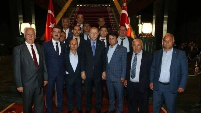 Muhtarlar Derneği Başkanı Arslan: Sayın Cumhurbaşkanımız Bizleri Onurlandırdı