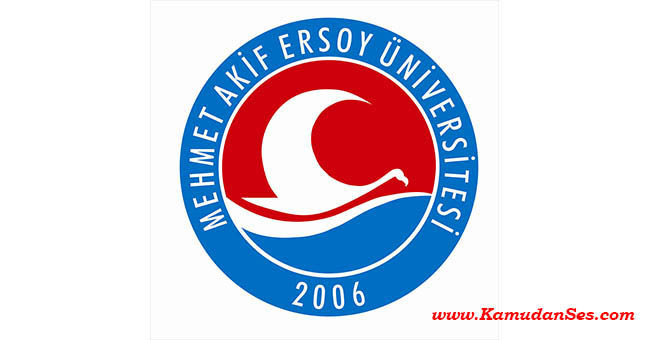 Mehmet Akif Ersoy Üniversitesi Formasyon İlanı 2016-2017