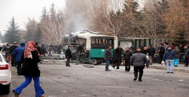 Kayseri'de Çarşı İznine Çıkan Erlere Bombalı Araçla Saldırı Saldırı