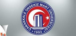 Onsekiz Mart Üniversitesi Yüksek Lisans ve Doktora İlanı 2017-2018
