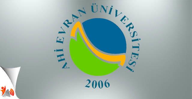 Ahi Evran Üniversitesi Yüksek Lisans ve Doktora İlanı 2017-2018