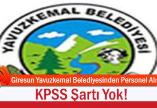 Giresun-Yavuzkemal-Belediyesinden-Personel-Alimi;-KPSS-Sarti-Yok!