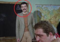 'Hababam Sınıfı'nda bıyıklı edebiyat öğretmenini canlandıran Avni Yalçın, aradan geçen zamanda bambaşka biri oldu.