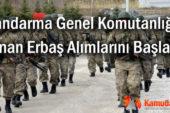 Jandarma Genel Komutanlığı Uzman Erbaş Alımlarını Başlattı!