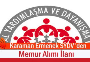 Karaman-Ermenek-SYDV'den-Memur-Alimi-Ilani