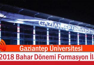 Gaziantep-Universitesi-2018-Bahar-Donemi-Formasyon-Ilani