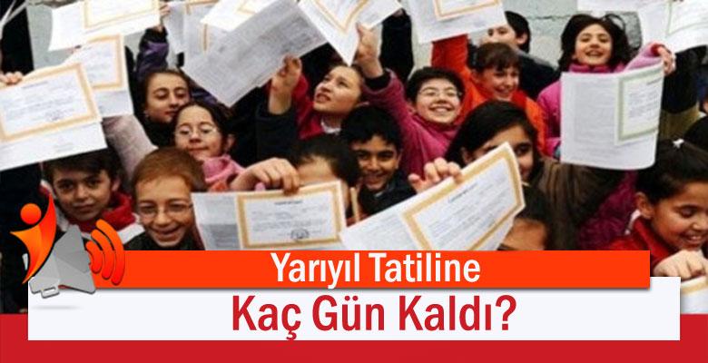 Yarıyıl Tatiline Kaç Gün Kaldı?