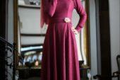 Gamze Özkul Yeni Sezon Tesettür Elbise Modelleri
