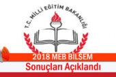 2018 MEB BİLSEM Sınav Sonuçları Açıklandı!