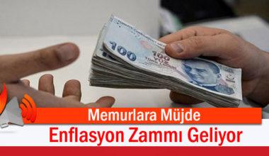 Memurlara, Enflasyon Zammı Müjdesi!