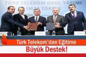 Türk Telekom'dan Eğitime Tam 50 Milyon TL