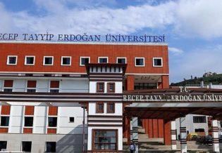 Recep Tayip Erdogan Universitesi 2018-2019 Formasyon Ilani