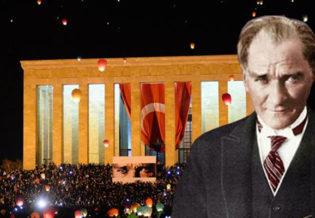 Ataturk'e ve Anitkabir'e Sansur